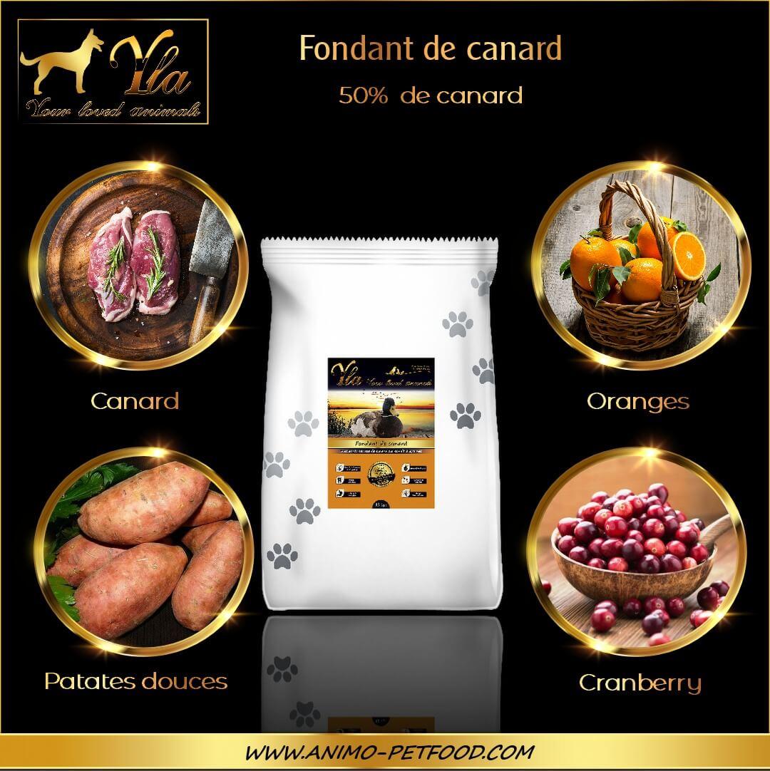 aliment-sans-cereales-chien-adulte-grandes-races-canard-ingredients