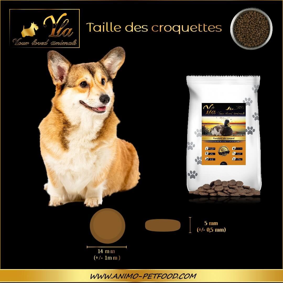 croquettes-sans-cereales-chien-adulte-petites-races-canard-taille-croquettes